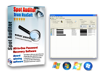 SpotAuditor - Password Recovery And Password Finder Software